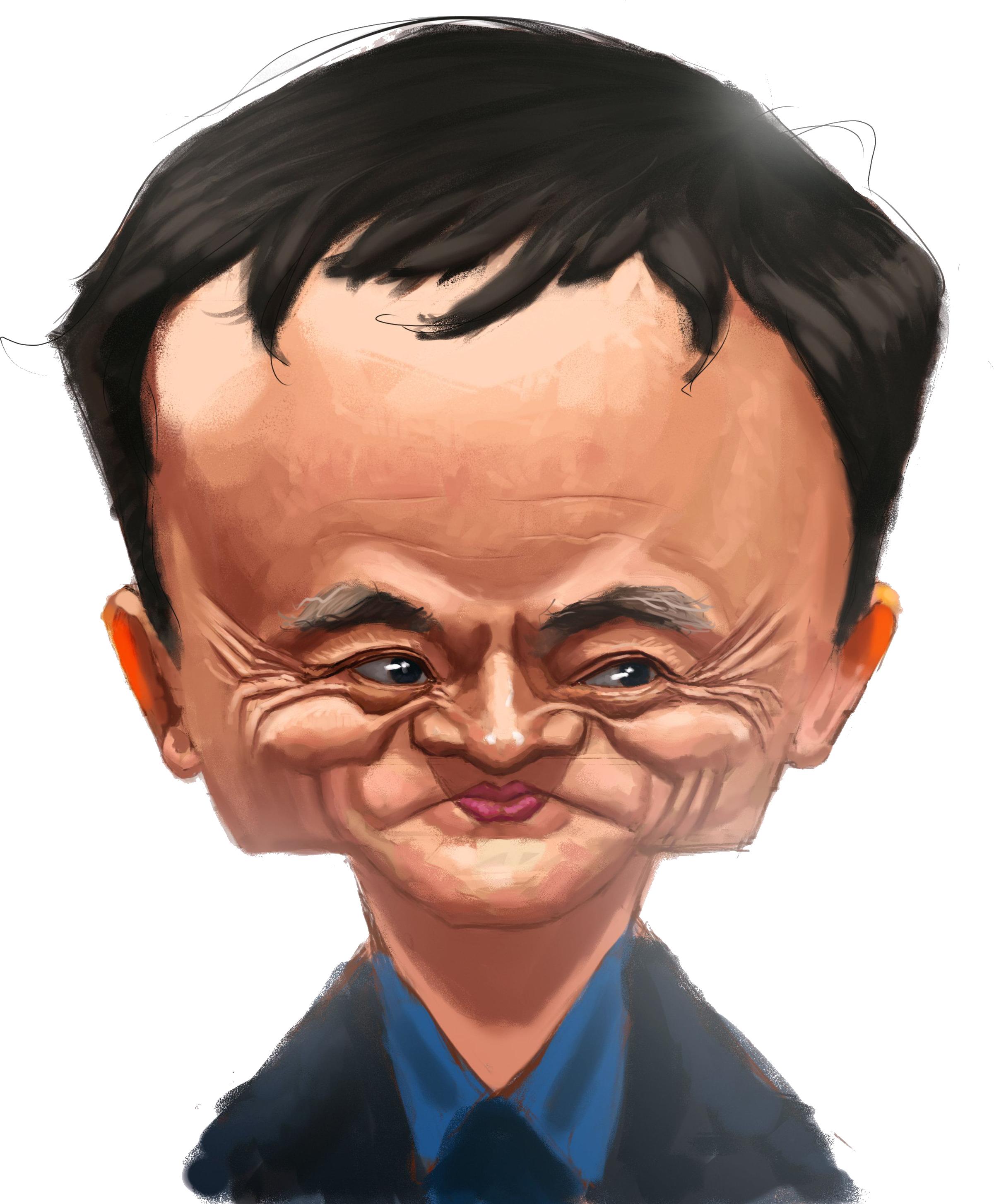 جک ما مدیر علی بابا